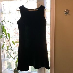 Black velvet dress XL xhilaration